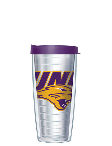 University of Northern Iowa - Large Logo on Clear Pattern
