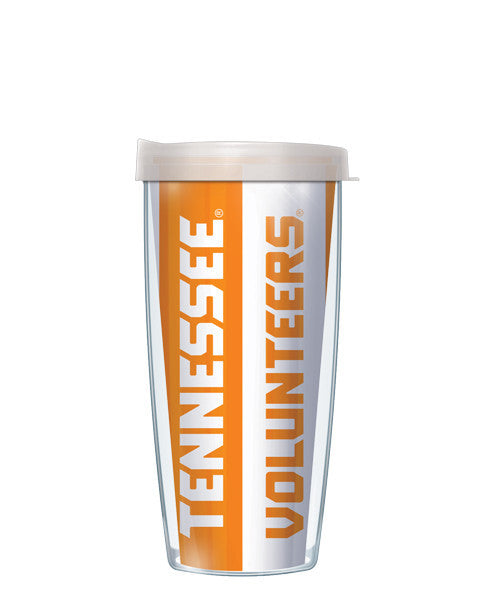 University of Tennessee - Vertical Stripes with Clear Lid