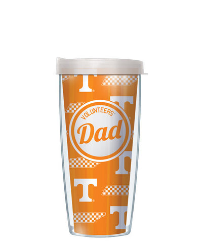University of Tennessee - Dad with Clear Lid