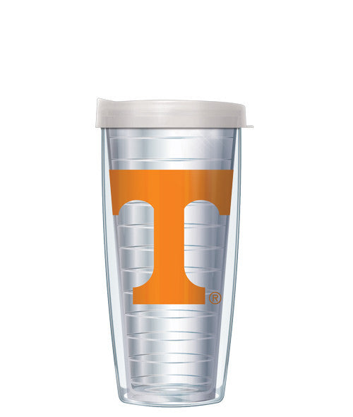 University of Tennessee - Logo on Clear with Clear Lid