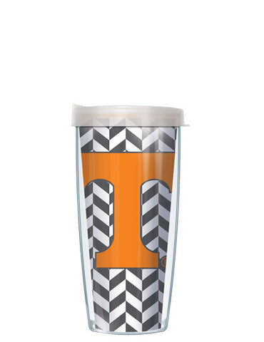 University of Tennessee - Herringbone Pattern with Clear Lid