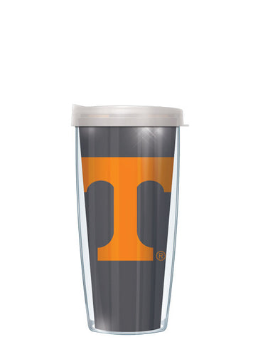 University of Tennessee - Large Logo & Inside Pattern with Clear Lid