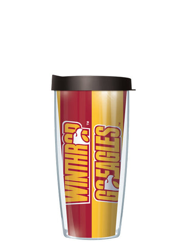 Winthrop University - Vertical Stripes Pattern