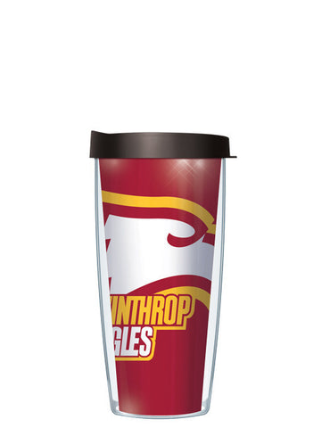 Winthrop University - Large Logo Repeat Pattern Inside Pattern