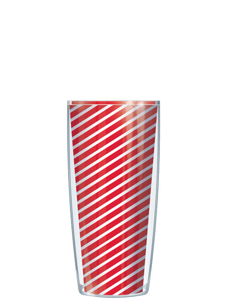 Red Diagonal Stripes Tumbler - Signature Tumblers - Tumbler -  - 1
