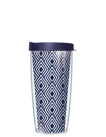 Navy Diamonds Tumbler - Signature Tumblers - Tumbler -  - 2