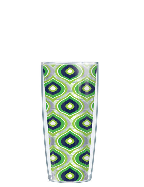 Green Color Drops - Clear Tumbler - Signature Tumblers - Tumbler -  - 1