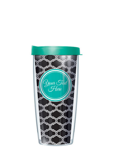 Personalized Text With Font Option Duofoil Black - Signature Tumblers - Tumbler -  - 2
