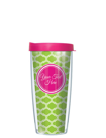 Personalized Text With Font Option Duofoil Lime - Signature Tumblers - Tumbler -  - 2