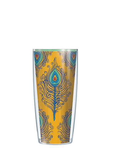 Gold Fancy Feathers Tumbler - Signature Tumblers - Tumbler -  - 1