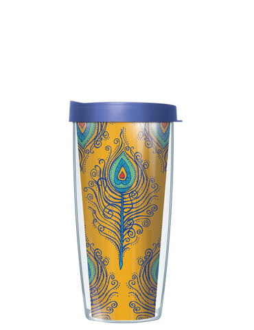 Gold Fancy Feathers Tumbler - Signature Tumblers - Tumbler -  - 2