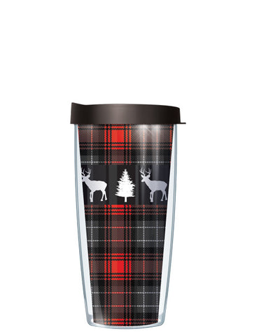 Deer on Red Flannel Tumbler - Signature Tumblers - Tumbler -  - 2
