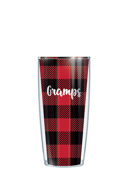 Gramps on Buffalo Plaid