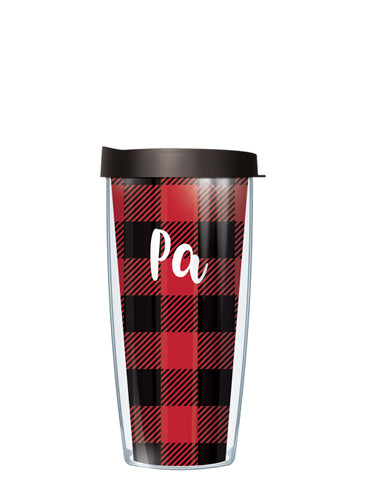 Pa on Buffalo Plaid