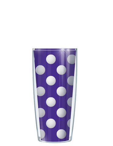 Golf Dots on Violet Tumbler - Signature Tumblers - Tumbler -  - 1