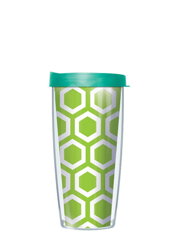 Hexagon Pattern Green Tumbler - Signature Tumblers - Tumbler -  - 2