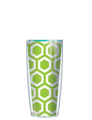 Hexagon Pattern Green Tumbler - Signature Tumblers - Tumbler -  - 1