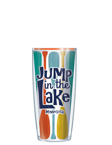 Minnesota Jump in the Lake Tumbler