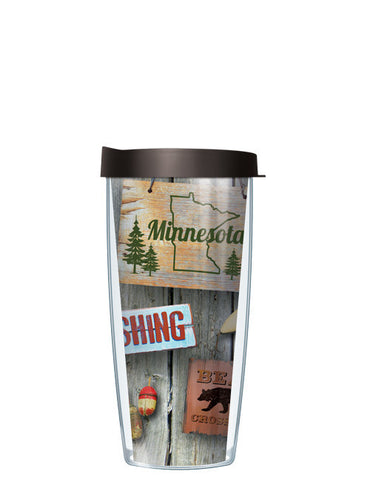 Welcome To The Cabin In Minnesota Tumbler - Signature Tumblers - Tumbler - 2