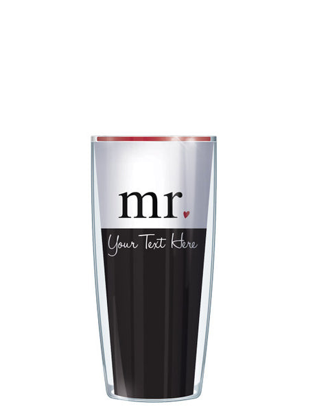 Personalized Text Mr. With Scripture - Signature Tumblers - Tumbler -  - 1
