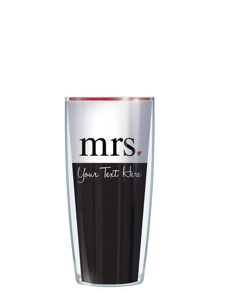 Personalized Text Mrs. With Scripture - Signature Tumblers - Tumbler -  - 1