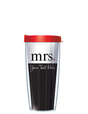 Personalized Text Mrs. - Signature Tumblers - Tumbler -  - 2