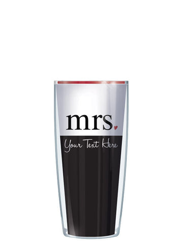 Personalized Text Mrs. - Signature Tumblers - Tumbler -  - 1