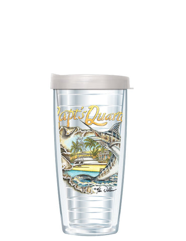 Captain's Quarters by Mike Williams - Signature Tumblers -  -  - 2