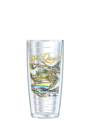 Captain's Quarters by Mike Williams - Signature Tumblers -  -  - 1