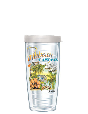 Caribbean Castaway by Mike Williams - Signature Tumblers -  -  - 2