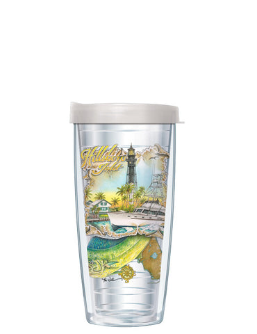Hillsboro Inlet by Mike Williams - Signature Tumblers -  -  - 2