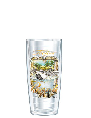 Ticket to Paradise by Mike Williams - Signature Tumblers -  -  - 1