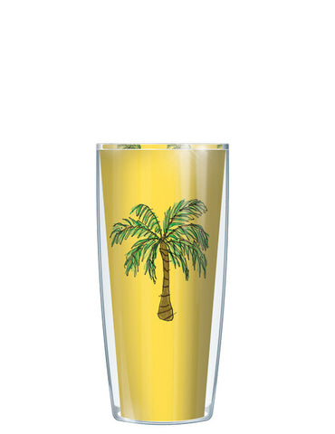 Yellow Palm Trees Tumbler - Signature Tumblers - Tumbler -  - 1