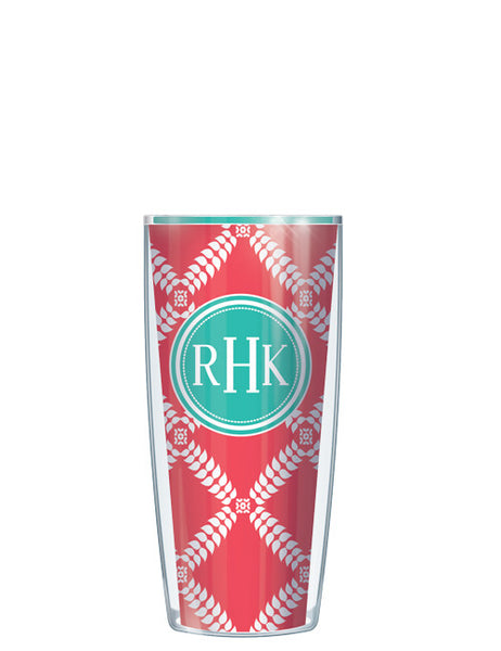 Monogram Royal Diamonds Red - Signature Tumblers - Tumbler -  - 1