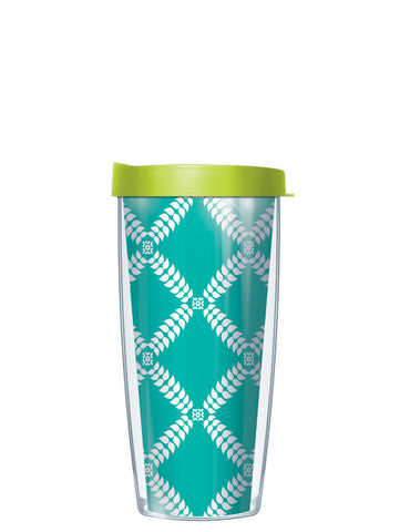 Royal Diamonds Teal Tumbler - Signature Tumblers - Tumbler -  - 2
