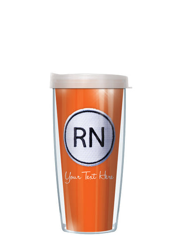 Personalized Text With Font Option RN ON Orange - Signature Tumblers - Tumbler -  - 2