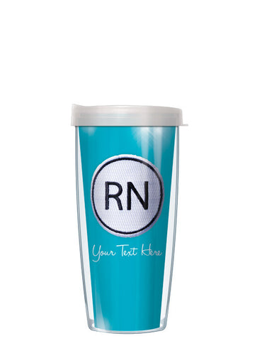 Personalized Text With Font Option RN ON Blue - Signature Tumblers - Tumbler -  - 2