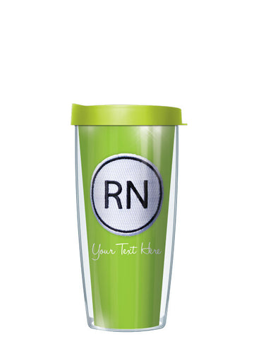 Personalized Text With Font Option RN ON Lime - Signature Tumblers - Tumbler -  - 2