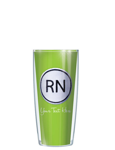 Personalized Text With Font Option RN ON Lime - Signature Tumblers - Tumbler -  - 1