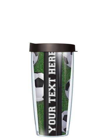 Personalized Text Soccer - Signature Tumblers - Tumbler -  - 2