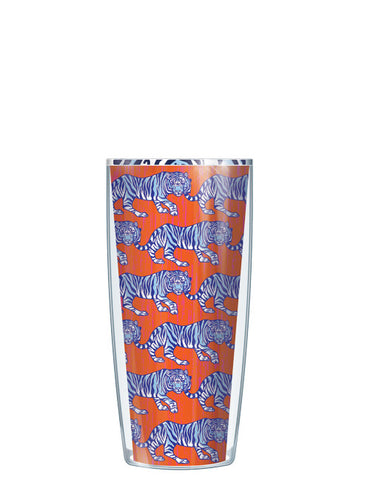 Royal Tigers - Orange and Navy Tumbler