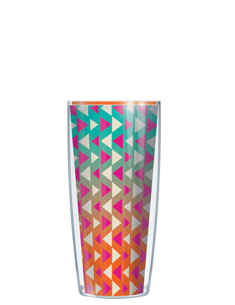 Orange Triangles Tumbler - Signature Tumblers - Tumbler -  - 1