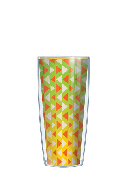 Lime Triangles Tumbler - Signature Tumblers - Tumbler -  - 1