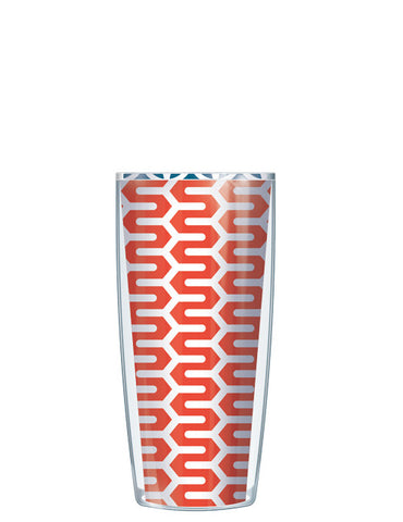 Tomato Red Wiggly Road Tumbler - Signature Tumblers - Tumbler -  - 1
