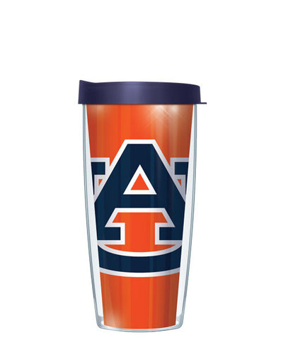 Auburn University - Large Logo & Inside Pattern with Navy Lid