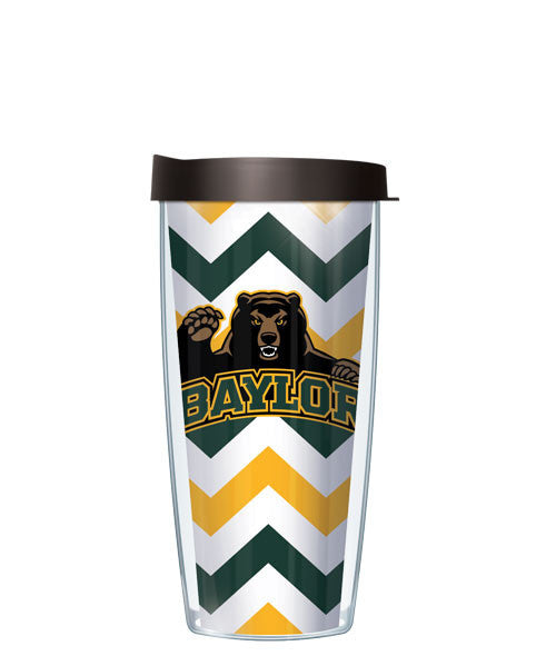 Baylor University - Chevron with Black Lid