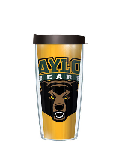 Baylor University - Large Logo & Inside Pattern with Black Lid