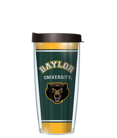 Baylor University - Varsity Stripes with Black Lid