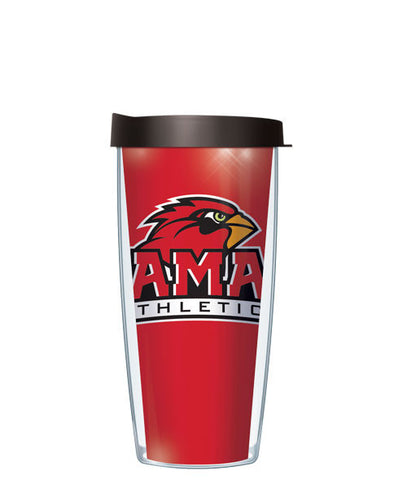 Lamar University - Large Logo & Inside Pattern with Black Lid