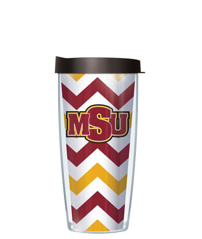 Midwestern State University - Chevron with Black Lid
